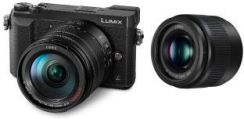 Panasonic Lumix DMC-GX80 czarny + 14-140mm + 25mm