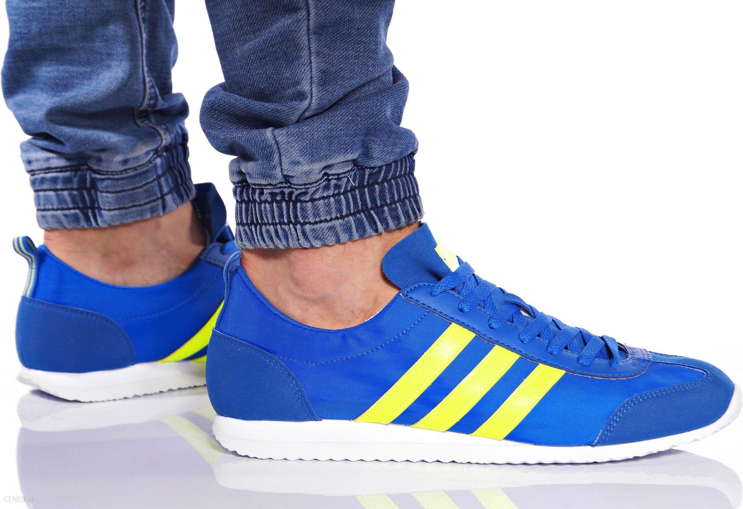 Adidas Vs Jog Shoes Niebieski Adidas Mężczyzn Adidas Neo