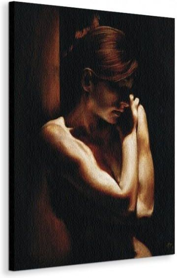 Naga Kobieta Akt Nagość Obraz 60x80 Cm