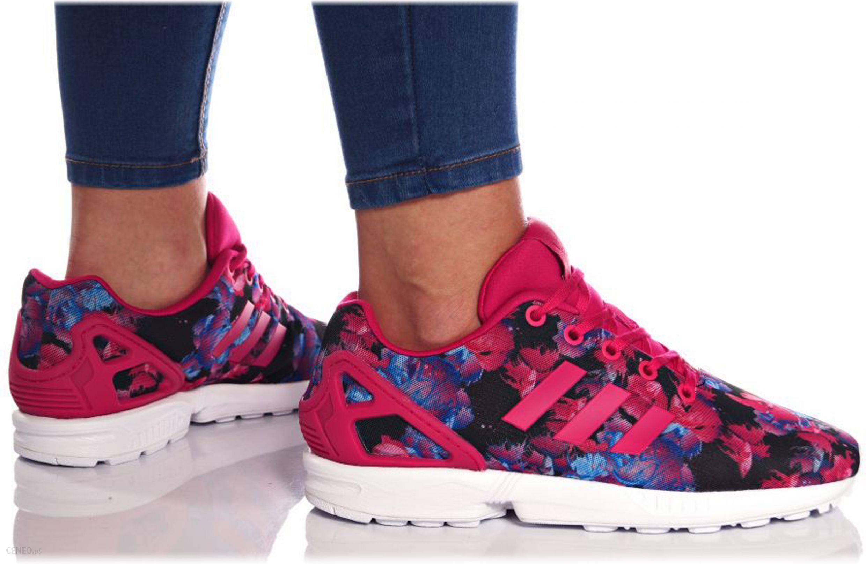 adidas zx flux damskie różowe