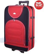 0b03613de5af9 Duża walizka PELLUCCI 801 L - Czerwony / Czarny