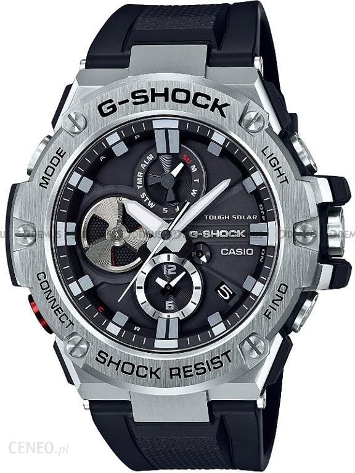 92e12f3d456bbe Casio G-Shock Gsteel Bluetooth GST-B100-1AER - opinie, komentarze o ...