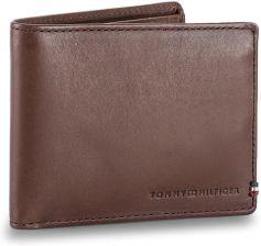 1a8e5c407105c Duży Portfel Męski TOMMY HILFIGER - Th Burnished Mini Cc Wallet AM0AM02656  254