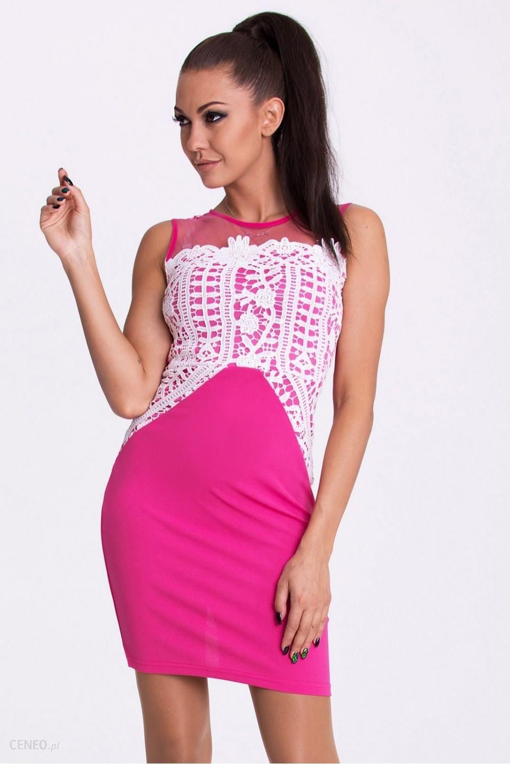 c053f70b26 Sukienka Model 17205 Fuksja - Ceny i opinie - Ceneo.pl