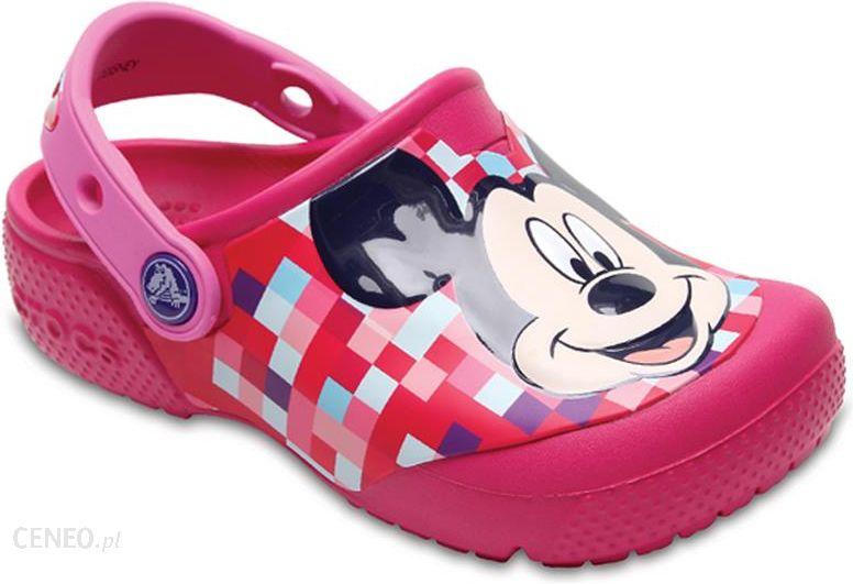Buty Crocs Mickey Clog 204708 Candy Pink r.29,5 Ceny i opinie Ceneo.pl