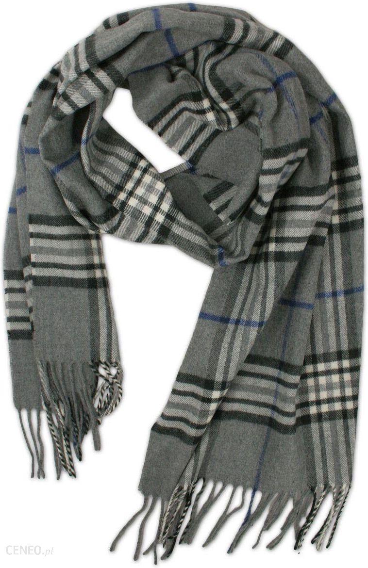 5391a01b3b17ec Elegancki, szeroki szalik firmy V.Fraas (Cashmink) - Wzór w Szkocką Kratę