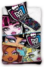 Carbotex Pościel Monster High Black 160X200+70X80