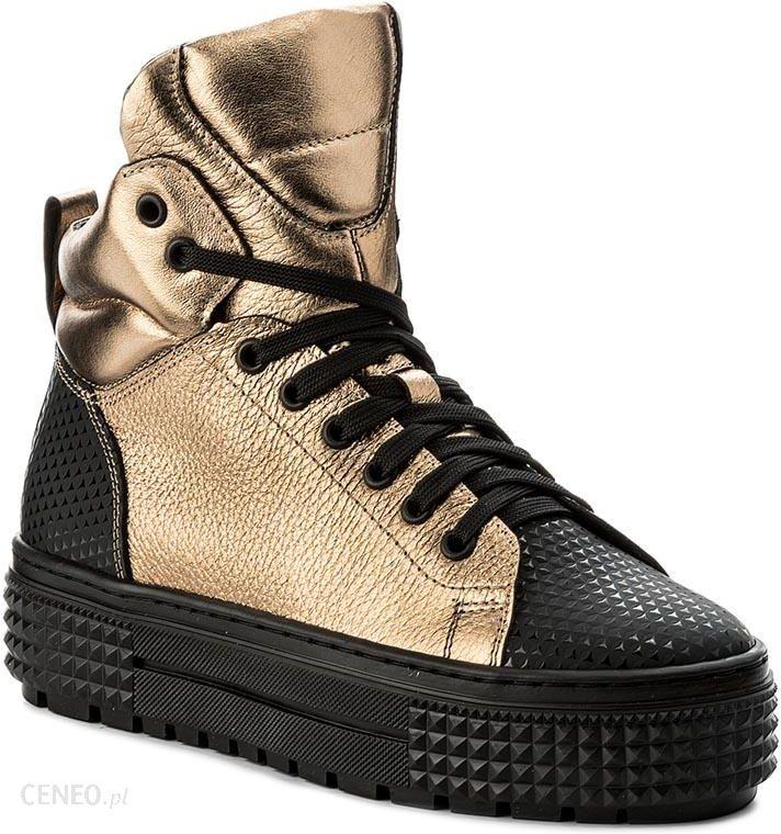 caccd3376e6c2 Sneakersy KAZAR - Alisa 31542-01-52 Czarny Złoty - Ceny i opinie ...