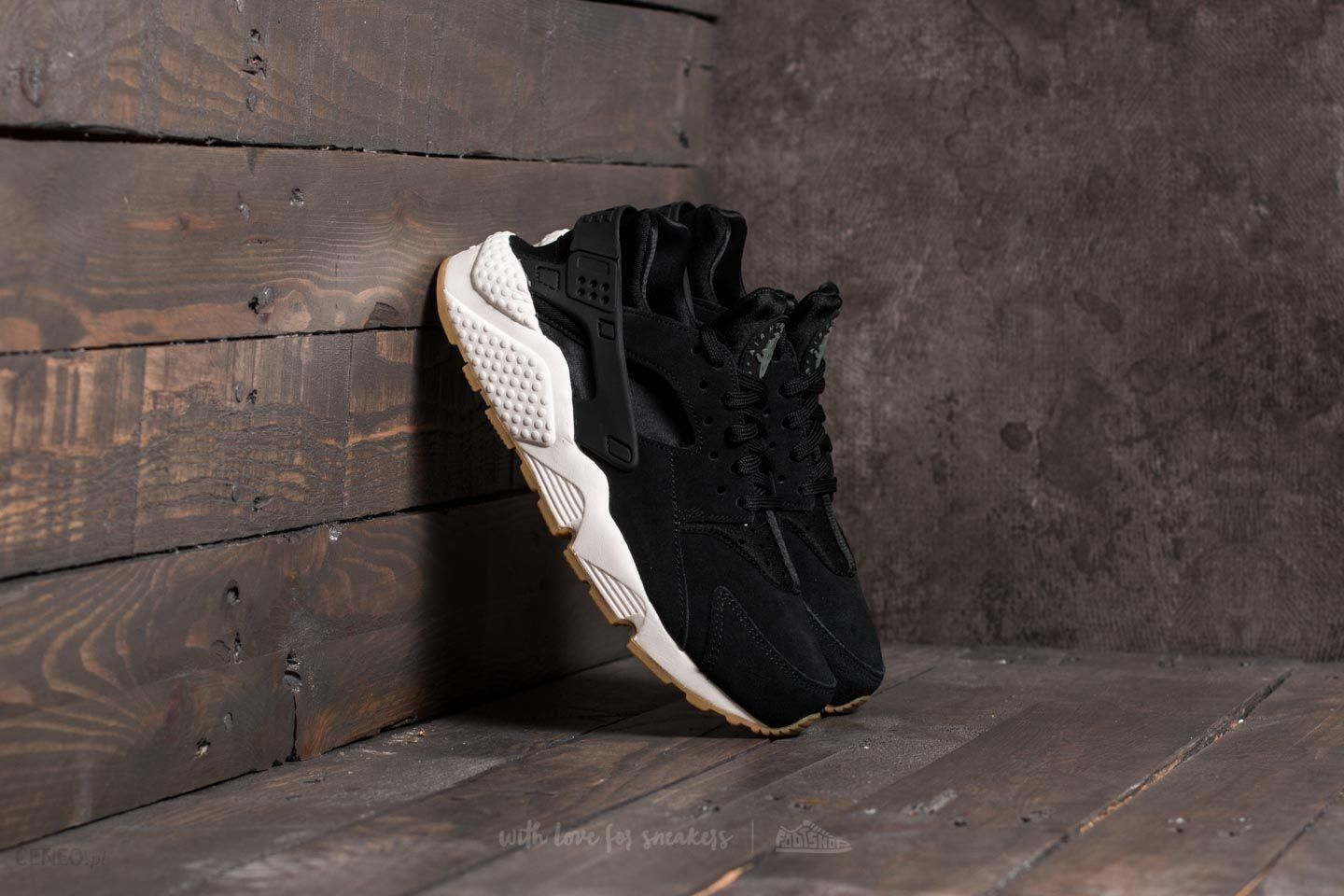 c1e660f3d4a Nike Wmns Air Huarache Run SD Black  Deep Greem-Sail - zdjęcie 1