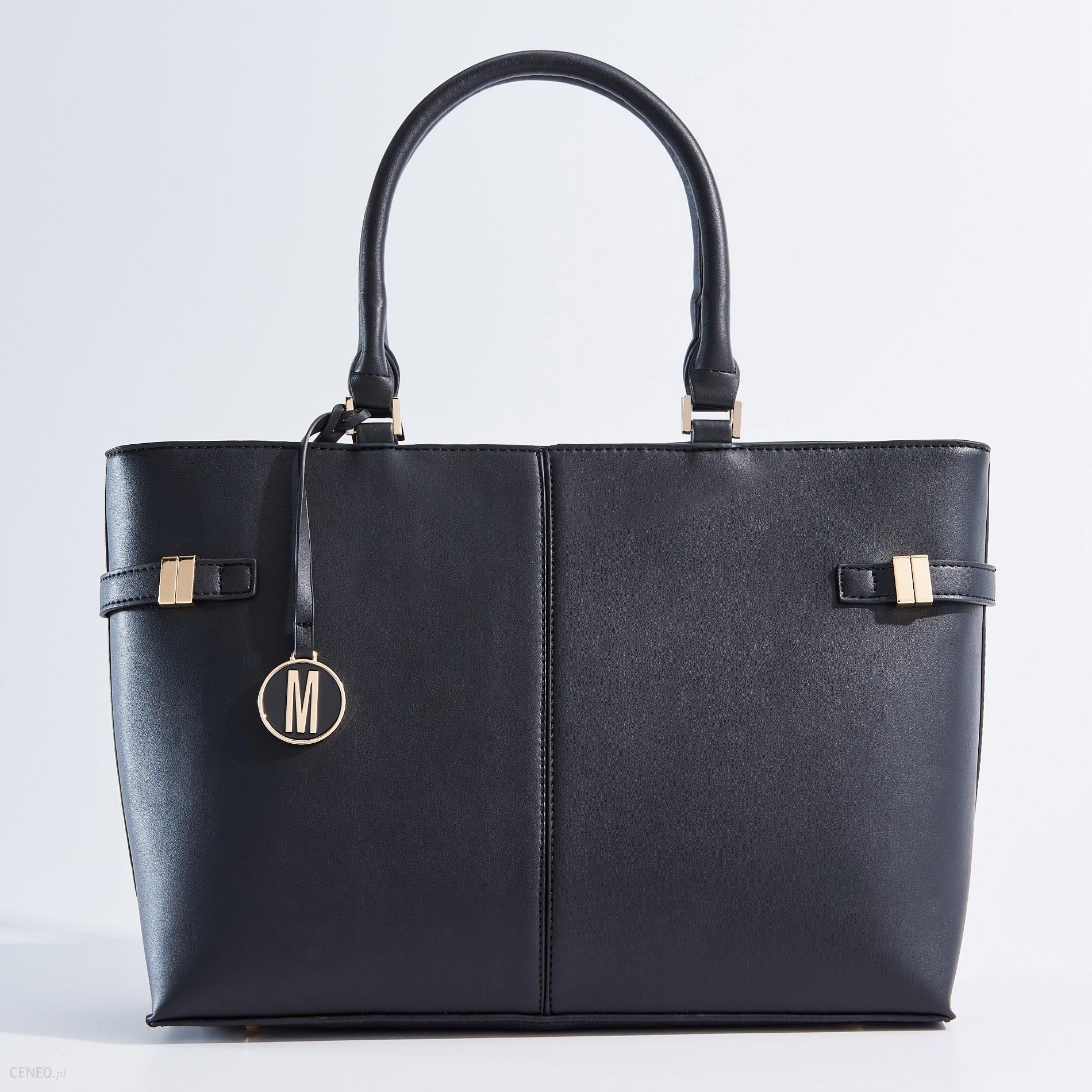b590682c9bda7 Mohito - Elegancka torebka typu city bag - Czarny - Ceny i opinie ...