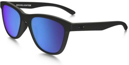 77250dc4ae Oakley Okulary przeciwsłoneczne MOONLIGHTER Matte Black Sapphire Iridium  Polarized OO9320-11 - OO9320-