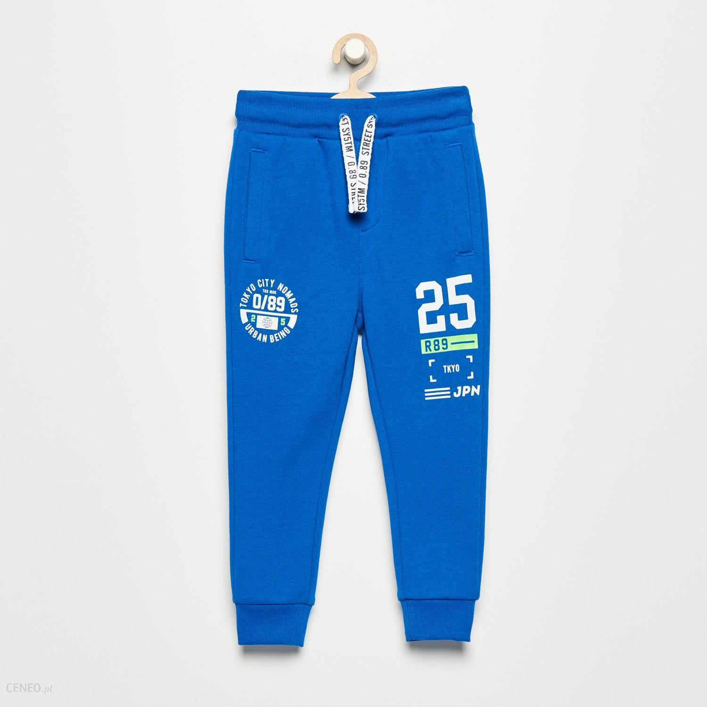 Reserved Spodnie dresowe Niebieski Ceny i opinie Ceneo.pl