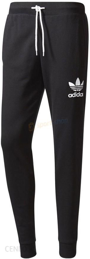 Spodnie dresowe męskie 3-Stripes French Terry Sweat Pants Adidas Originals  (czarne) -