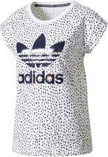 c911ffffbe473 Koszulka damska Boyfriend Tee Adidas Originals (biało-granatowa)