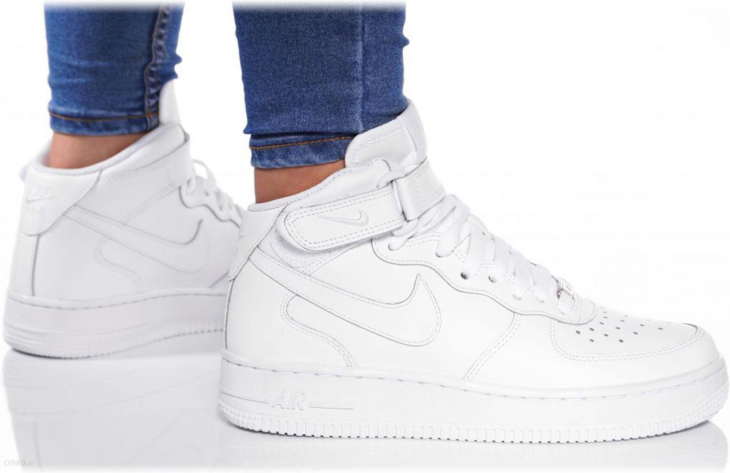 Buty Nike Białe Air Force 1 MID 314195 113