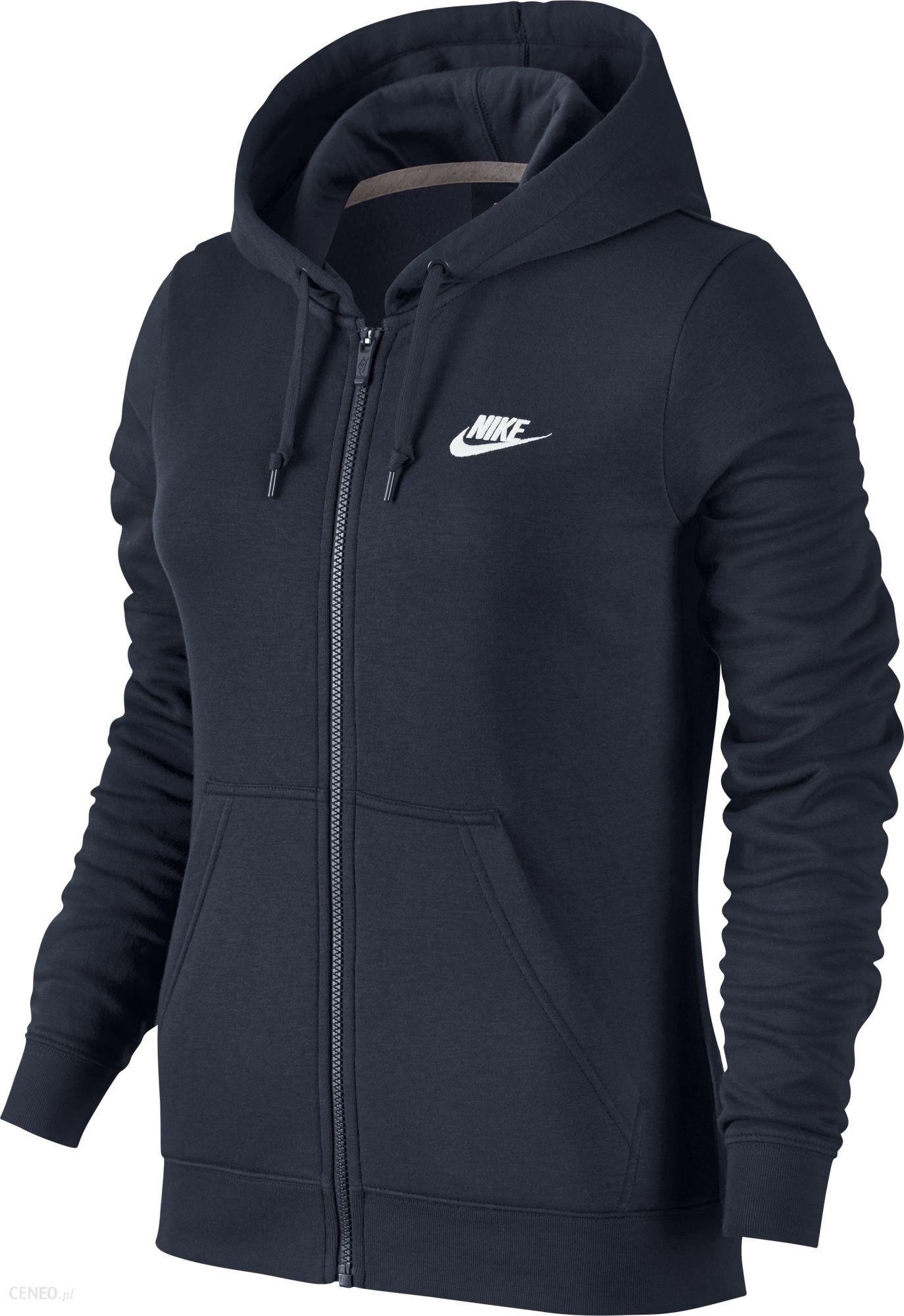 02af48811 BLUZA DAMSKA Nike W NSW HOODIE FZ FLC 803638-451 - Ceny i opinie ...