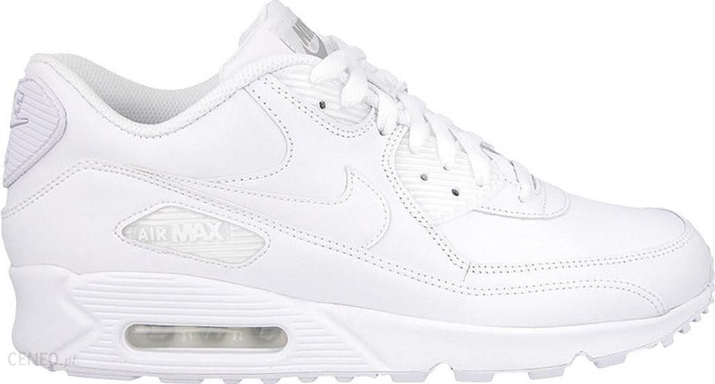 Sneakers buty Nike Air Max 90 Leather white white (302519 113)