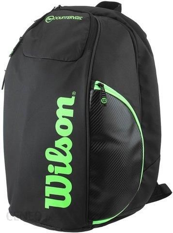 76f51023bbe93 Wilson Plecak Tenisowy Blade Backpack Black Green Wrz842796 - Ceny i ...