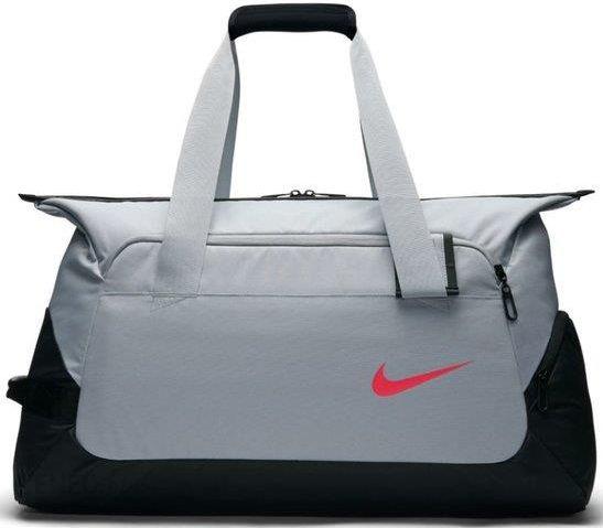 009b2533387a8 Nike Torba Tenisowa Court Tech Duffel 2.0 Wolf Grey Black Siren Red  Ba5171012 - zdjęcie 1
