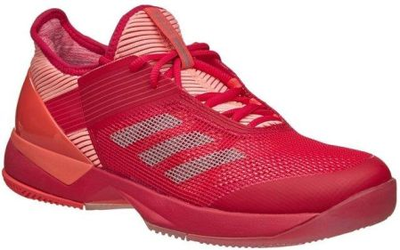 e4d721618489 Adidas Buty Tenisowe Adizero Ubersonic 3 W Energy Pink Vapour Grey Metalic  Easy Coral By1616