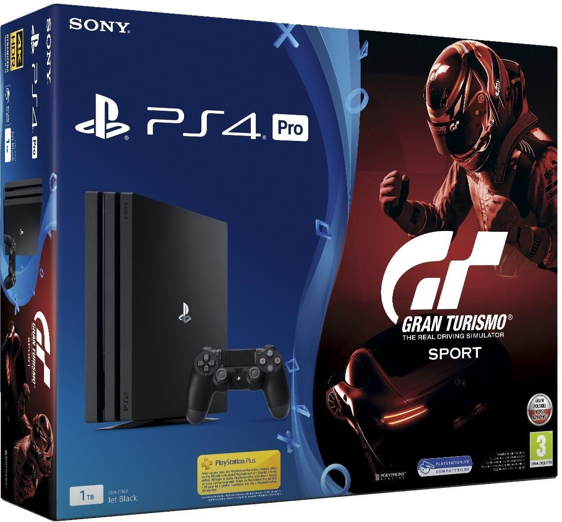 sony playstation 4 pro 1tb gran turismo sport ceny i. Black Bedroom Furniture Sets. Home Design Ideas