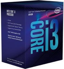 Intel i3-8100 3.60GHz BOX (BX80684I38100)