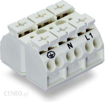 Wago Złącze Terminalowe Klema Sprężynowa Biały 862 9603 250 Szt Opinie I Ceny Na Ceneo Pl