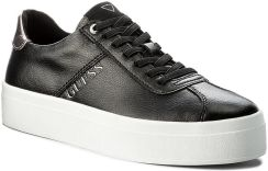 715dd3882f1d2 Sneakersy GUESS - Fhala FLFHA3 LEA12 BLACK - Ceny i opinie - Ceneo.pl