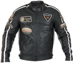 67d2837184716 W-TEC Męska skórzana kurtka motocyklowa Sheawen Czarny r. L (16425-L