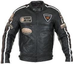 4be5be5b4d8ef W-TEC Męska skórzana kurtka motocyklowa Sheawen Czarny r. L (16425-L