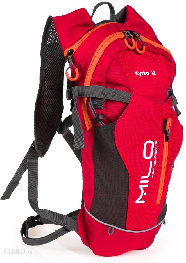 5b238af80b9d7 Plecak Milo Kyrko 12 Czerwony -Pomarańczowy - Ceny i opinie - Ceneo.pl