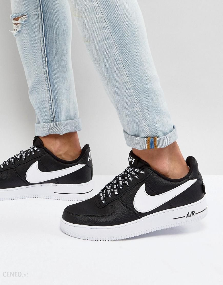 timeless design 8a886 7c9eb Nike Air Force 1  07 LV8 Trainers In Black 823511-007 - Black -