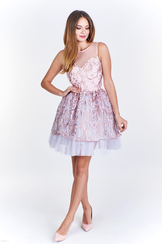 85650e2de2 PtakModa - Sukienka princeska BICOTONE - Ceny i opinie - Ceneo.pl