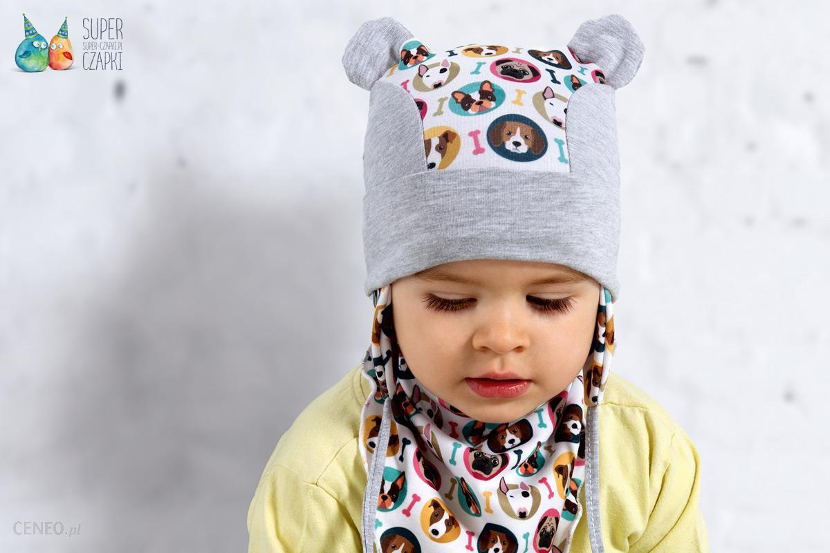 b955b8056b5cbb Raster Rodeo czapka dla dzieci pieski uszka szara - Ceny i opinie ...
