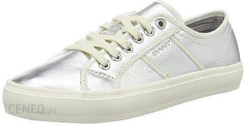 Amazon GANT Buty sportowe panie, kolor: srebrny (Silver), rozmiar: 37 Ceneo.pl