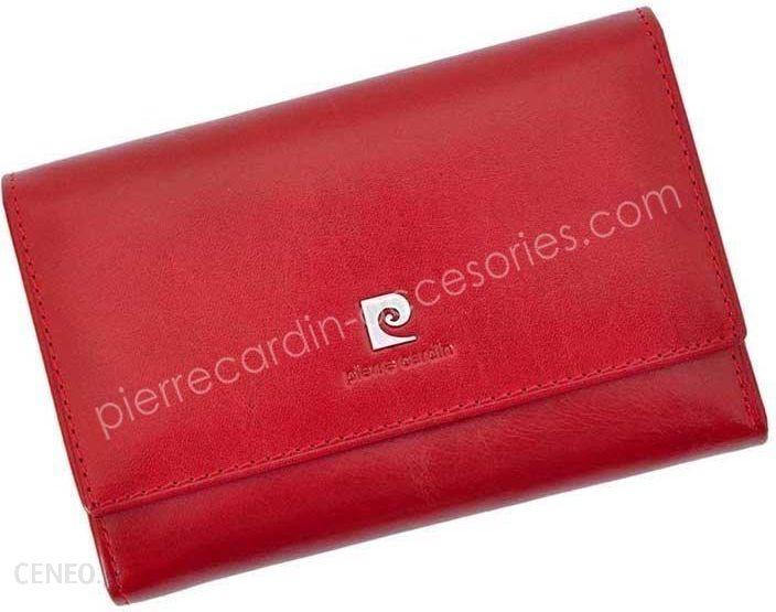 8a492f5e42166 Portfel damski skórzany PIERRE CARDIN 507.1 356 Czerwony - Ceny i ...