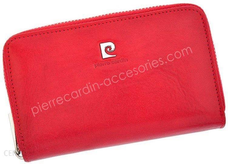358730c5ffa8d Portfel damski skórzany PIERRE CARDIN 507.10 503 Czerwony - Ceny i ...