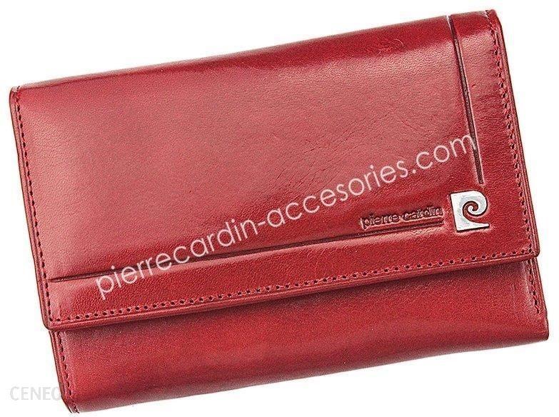 1cae414411eec Portfel damski skórzany PIERRE CARDIN 507.10 356 Czerwony - Ceny i ...