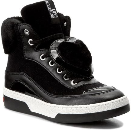 wholesale dealer ceb9f b64be Sneakersy LOVE MOSCHINO - JA15343G04JJ100B Nero eobuwie