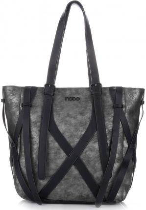 61510d05fb9db Elegancki Shopperbag Genuine Leather Lakierowana Skóra Ruda (kolory ...