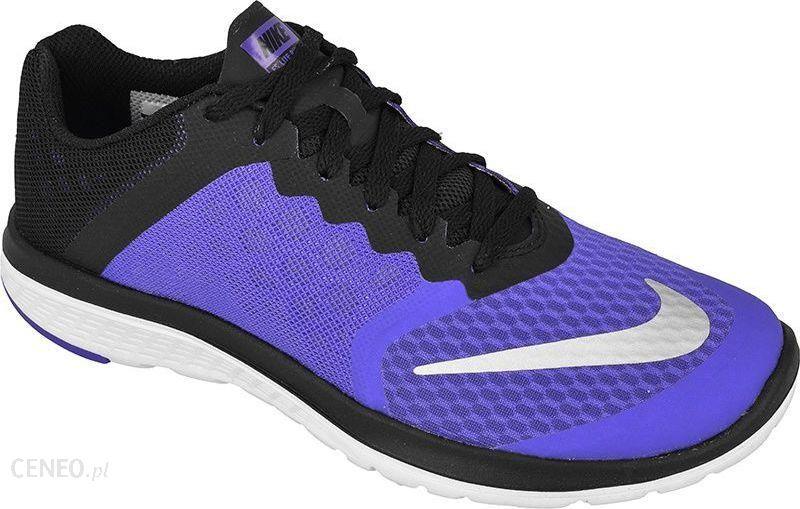 affb698f Nike Buty biegowe FS Lite Run 3 W czarno-niebieskie r. 37,5 (807145 ...