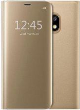 size 40 81ac7 2354d 4kom Etui Clear View Cover Galaxy J5 2017 Złoty