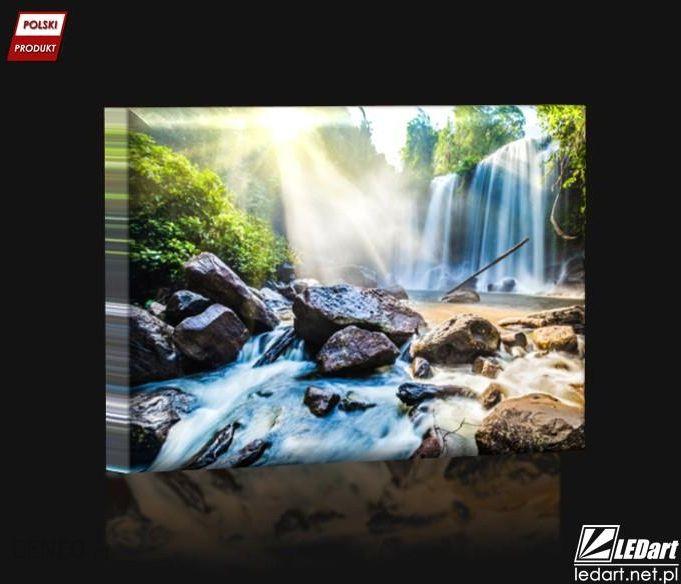 Wodospad Obraz Podświetlany Led Opinie I Atrakcyjne Ceny Na Ceneopl