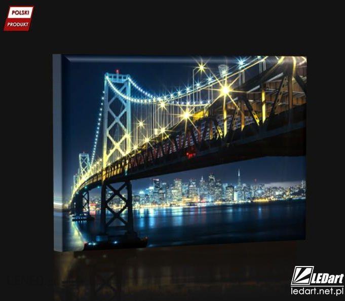 San Fransisco Obraz Podświetlany Led Opinie I Atrakcyjne Ceny Na