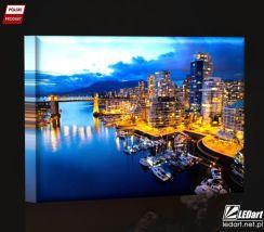 Vancouver Obraz Podświetlany Led Opinie I Atrakcyjne Ceny Na Ceneopl