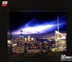 Nowy Jork Burza Obraz Podświetlany Led Opinie I Atrakcyjne Ceny Na