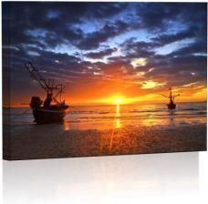 Zachód Słońca Obraz Podświetlany Led Opinie I Atrakcyjne Ceny Na