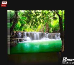 Wodospady W Tajlandii Obraz Podświetlany Led Opinie I Atrakcyjne