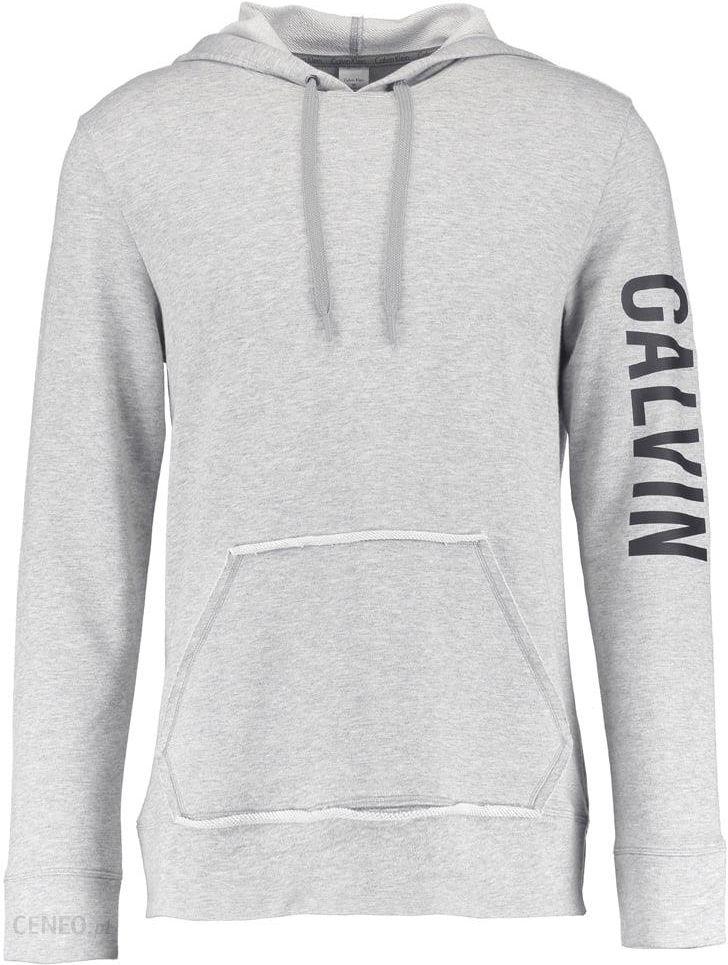 Calvin Klein Underwear HOODIE Bluza z kapturem grey heather Zalando