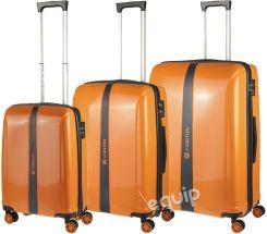 b78949fe472e9 Zestaw walizek Carlton Earl - pomarańczowy